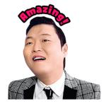 【海外限定スタンプ】PSY Hangover スぺシャル