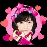 公式スタンプ::AKB48