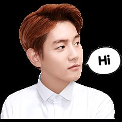 海外限定スタンプ::EXO BAEKHYUNスペシャル