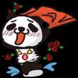 海外限定スタンプ::楽天ラッキーパンダ:生活編(台湾)