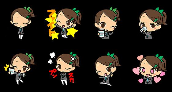 隠しスタンプ::日々野 優〜with FAMIMA CAFE〜