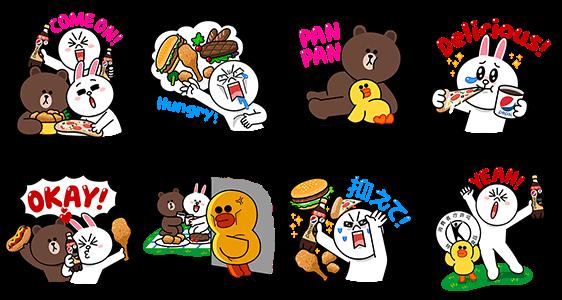 シリアルナンバー::ペプシスペシャルxLINEキャラクターズ