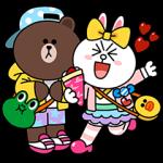 シリアルナンバー::LINE FRIENDS in 原宿