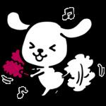 期間限定スタンプ::ダス犬(ダスケン)