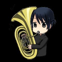 アニメ・マンガキャラクリエイターズ::sing!スタンプ2