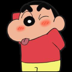 公式スタンプ::動くゾ!クレヨンしんちゃんアニメスタンプ