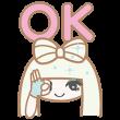 限定無料スタンプ::【ガガ×サンリオ】ビューティーモンスター