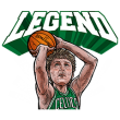 公式スタンプ::NBA レジェンドプレイヤー