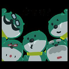 限定無料スタンプ::三井住友銀行キャラクタースタンプ 第4弾