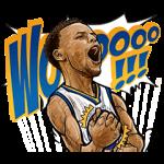 公式スタンプ::NBA スーパースター
