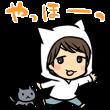 音付きスタンプ::声優☆初☆しゃべる神谷浩史