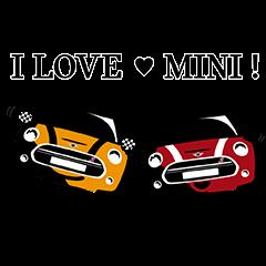 隠し無料スタンプ::MINI Japan公式スタンプ