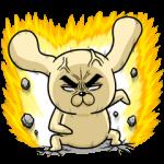 人気スタンプ特集::怒りのロシヒキャラクターズ