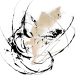 人気スタンプ特集::自由すぎる!無重力猫ミルコ