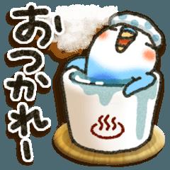 人気スタンプ特集::インコちゃん活躍の年!