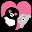 限定無料スタンプ::Suicaのペンギン 飛び出す!スタンプ