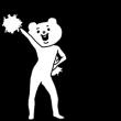 人気スタンプ特集::キモ激しく動く★ベタックマ4(応援)