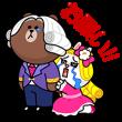限定無料スタンプ::POPショコラ X 貴族風スタンプ