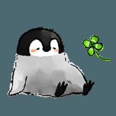 人気スタンプ特集::肯定ペンギンのあかちゃん