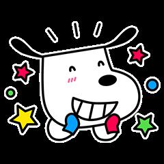 【隠し無料スタンプ】くつお 第4弾スタンプ(2017年07月18日まで)