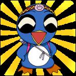人気スタンプ特集::忍ペンまん丸