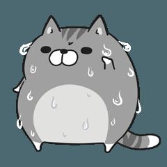 人気スタンプ特集::ボンレス猫 in さま~