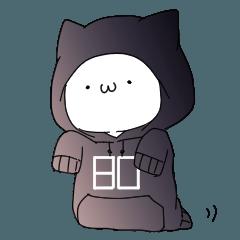 人気スタンプ特集::埜生猫スタンプ(だぼにゃん)