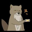 人気スタンプ特集::チベットスナギツネの砂岡さん&砂奈子