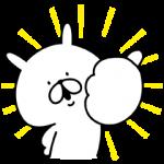 限定無料スタンプ::ゆるうさぎ×洋服の青山コラボスタンプ誕生