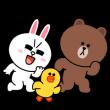 人気スタンプ特集::ハイテンション!LINEキャラクターズ
