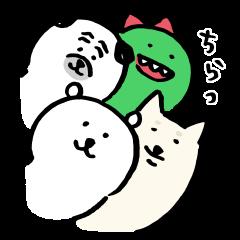 限定無料スタンプ::ナガノ × LINEショッピング