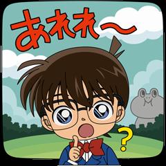限定無料スタンプ::バブル2×名探偵コナンコラボ限定スタンプ