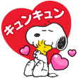 隠し無料スタンプ::LINE POP2 & Snoopy