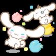 限定無料スタンプ::LINE POP2 & シナモロール