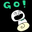 限定無料スタンプ::ごきげんぱんだ×SHOPPING GO