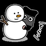 数量限定/隠し無料スタンプ::クロコくん 2020-21年冬ver.