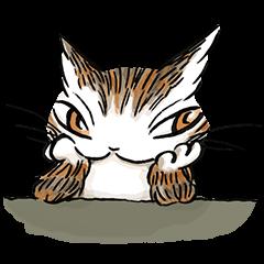 【公式スタンプ】猫のダヤン_2