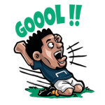 【海外限定スタンプ】Goal.com:サッカーファン(ポルトガル)
