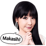 【公式スタンプ】2NE1 Special Edition 2