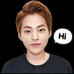 海外限定スタンプ::EXO XIUMINスペシャル(香港)