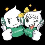 海外限定スタンプ::N Opp & Oily♪は元気!(タイ)(動くスタンプ)
