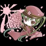 公式スタンプ::初音ミク 「千本桜」
