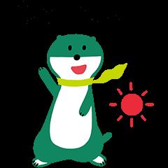 隠しスタンプ::三井住友銀行キャラクタースタンプ 第1弾