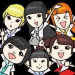 芸能人スタンプ::でんぱ組.inc(byでんぱの神神)