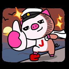 動く限定スタンプ::JTB LINEオリジナルキャラクター★