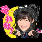 音付きスタンプ::しゃべるAKB48