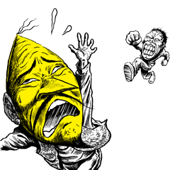 アニメ・マンガキャラクリエイターズ::コミックビーム謹製[桜玉吉スタンプ]