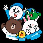公式スタンプ::LINE X UNICEF スペシャルエディション