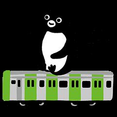 隠し無料スタンプ::Suicaのペンギン