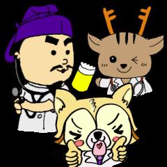 大学・高校マスコットクリエイターズ::奈良医大「白橿生祭」オリジナルスタンプ